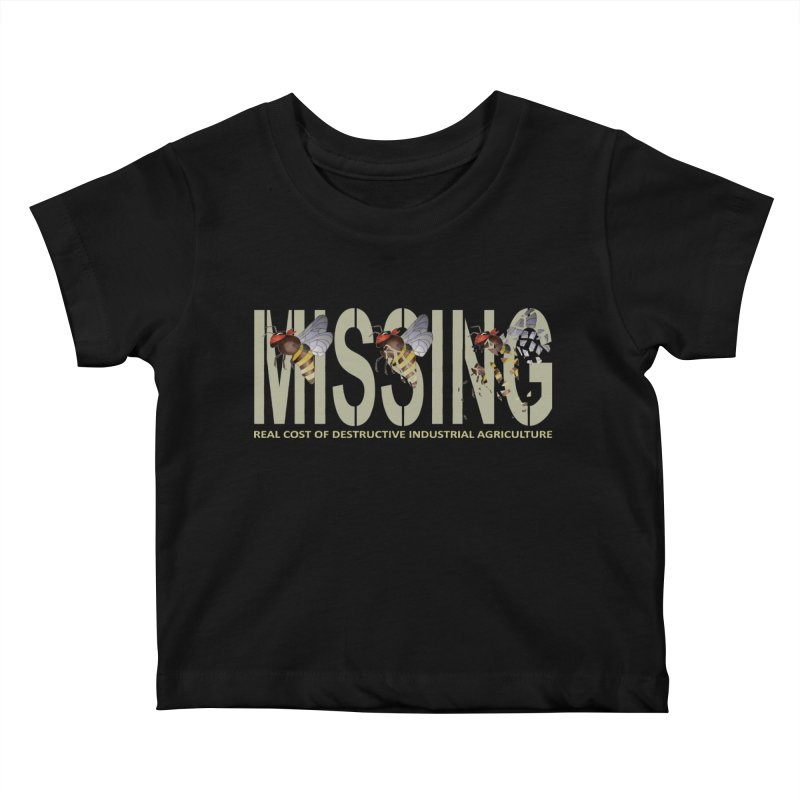 Missing bees Kids Baby T-Shirt by bidule's Artist Shop