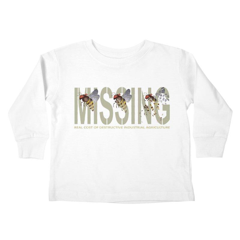 Missing bees Kids Toddler Longsleeve T-Shirt by bidule's Artist Shop
