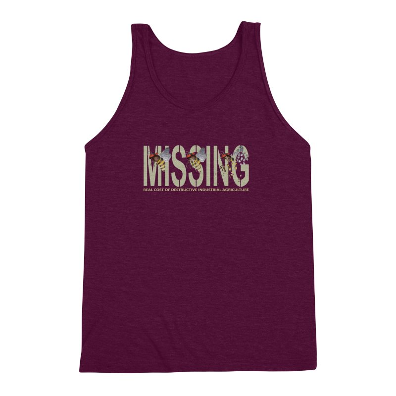 Missing bees Men's Triblend Tank by bidule's Artist Shop