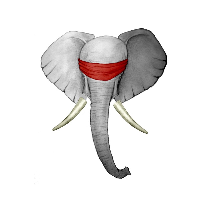 Elephant None  by bidule's Artist Shop