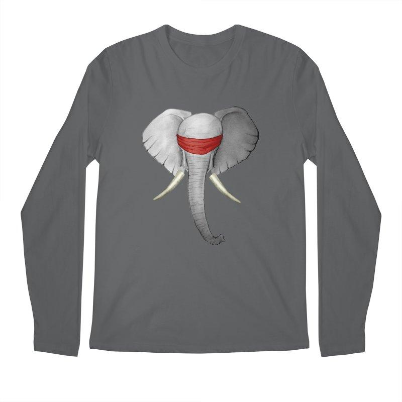 Elephant Men's Longsleeve T-Shirt by bidule's Artist Shop