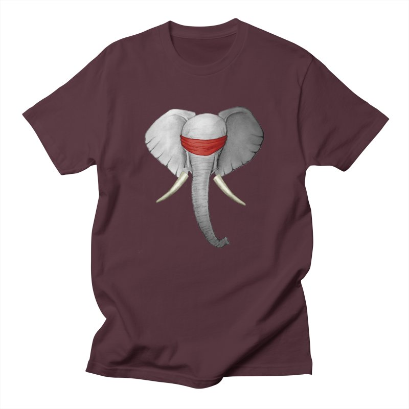 Elephant Men's T-shirt by bidule's Artist Shop