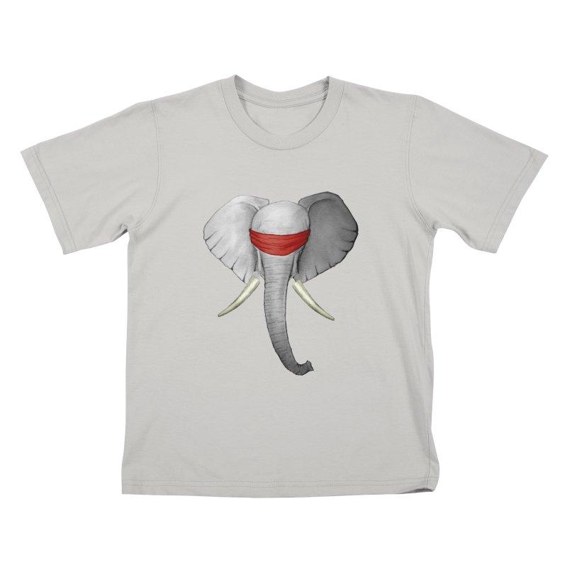 Elephant Kids T-Shirt by bidule's Artist Shop