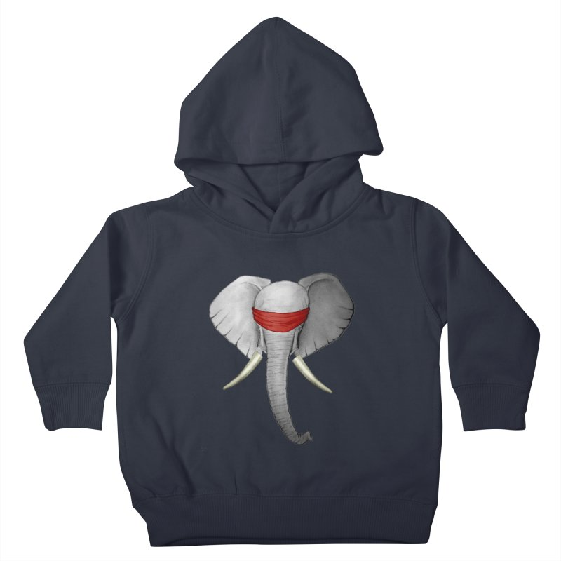 Elephant Kids Toddler Pullover Hoody by bidule's Artist Shop