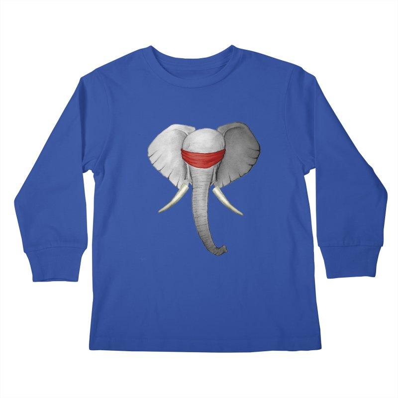 Elephant Kids Longsleeve T-Shirt by bidule's Artist Shop