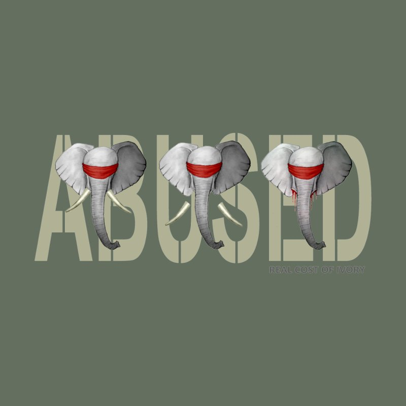 Abused elephant None  by bidule's Artist Shop