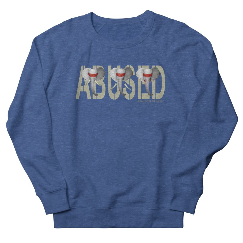 Abused elephant Women's Sweatshirt by bidule's Artist Shop
