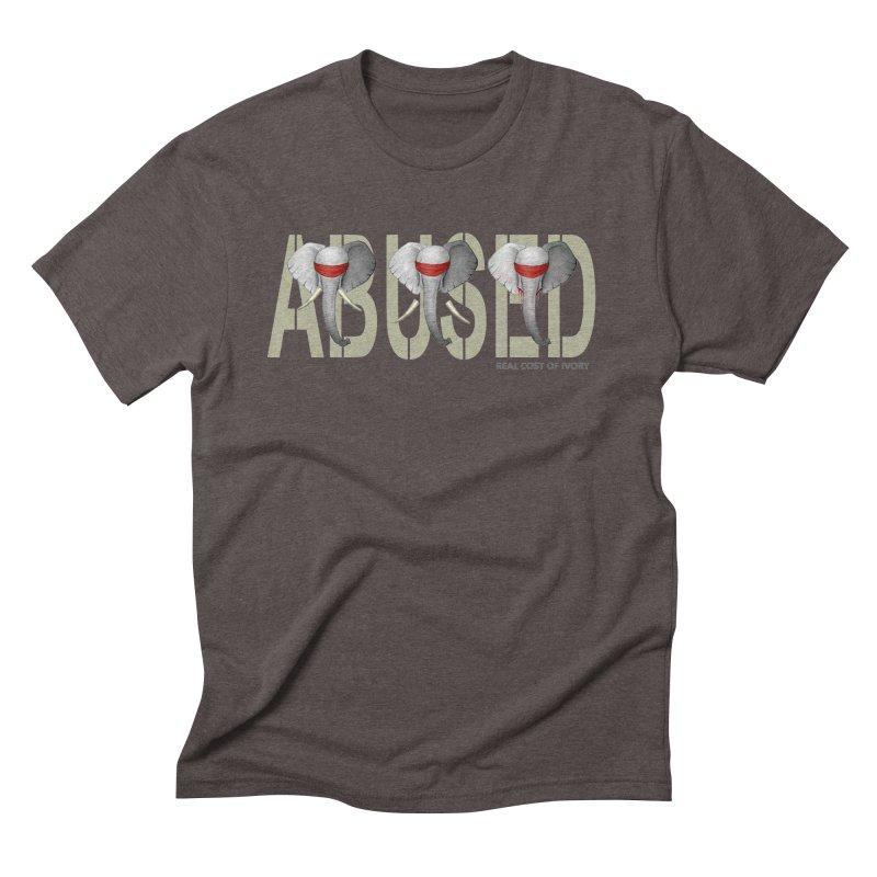 Abused elephant Men's Triblend T-Shirt by bidule's Artist Shop