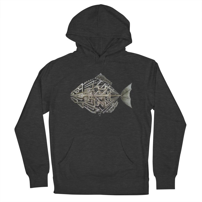 bio fish Women's Pullover Hoody by bidule's Artist Shop