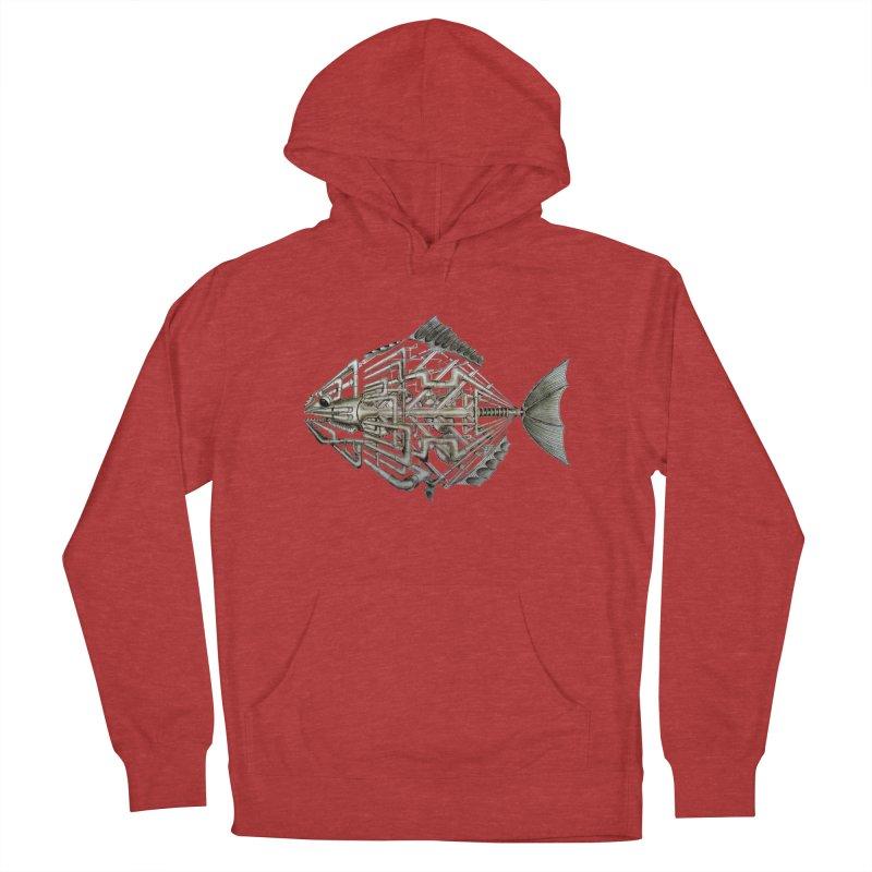 bio fish Women's Pullover Hoody by bidule's Artist Shop