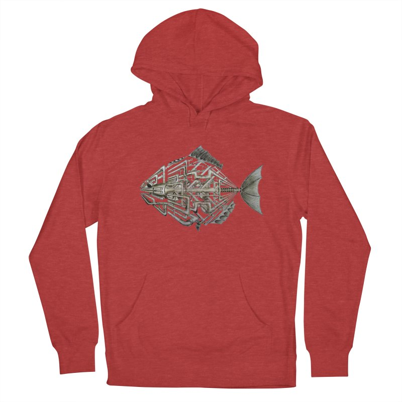 bio fish Men's Pullover Hoody by bidule's Artist Shop