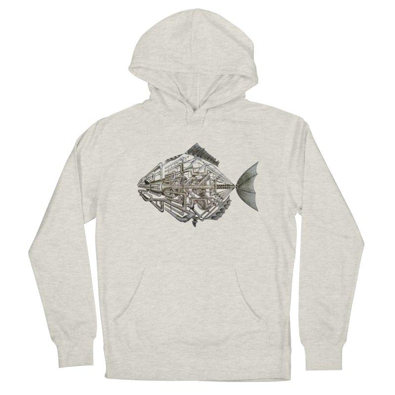 bio fish Men's Pullover Hoody by bidule's Artist Shop