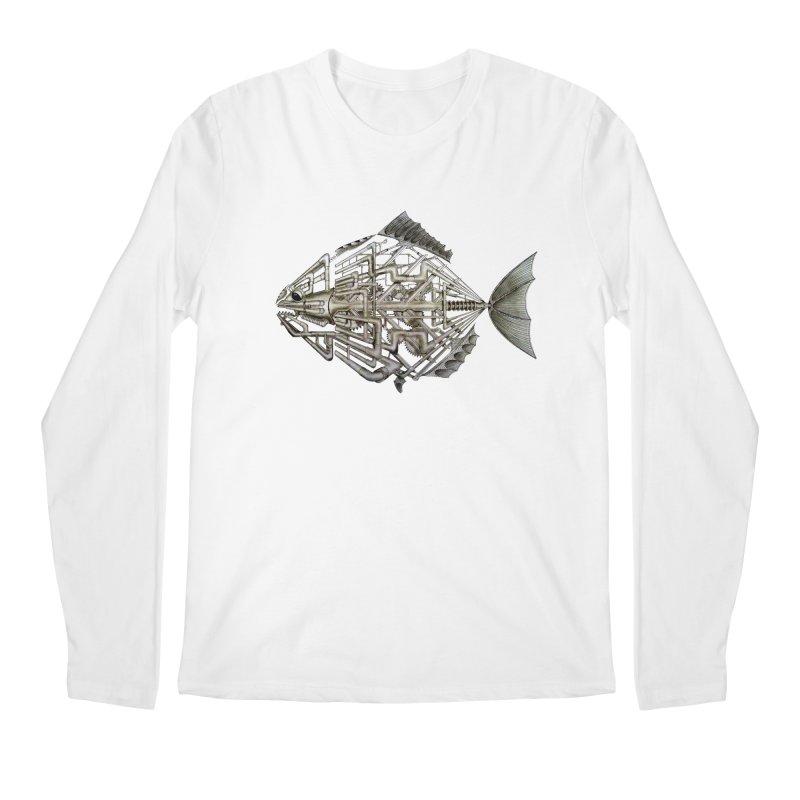 bio fish Men's Longsleeve T-Shirt by bidule's Artist Shop