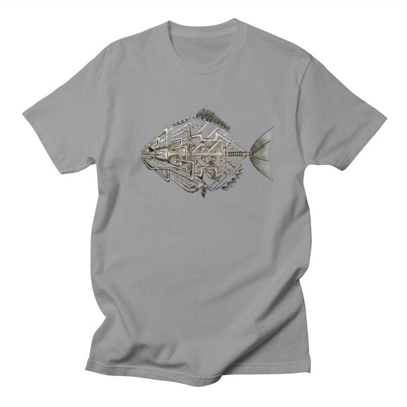 bio fish Men's T-Shirt by bidule's Artist Shop