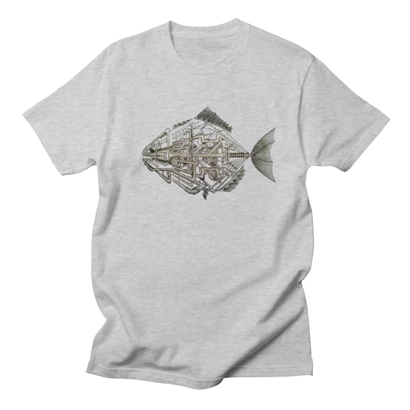 bio fish Men's T-shirt by bidule's Artist Shop