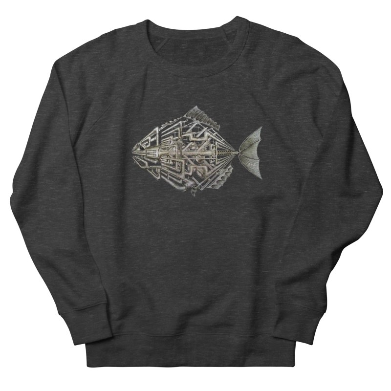 bio fish Men's Sweatshirt by bidule's Artist Shop