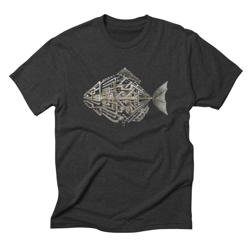 bio fish Men's Triblend T-shirt by bidule's Artist Shop