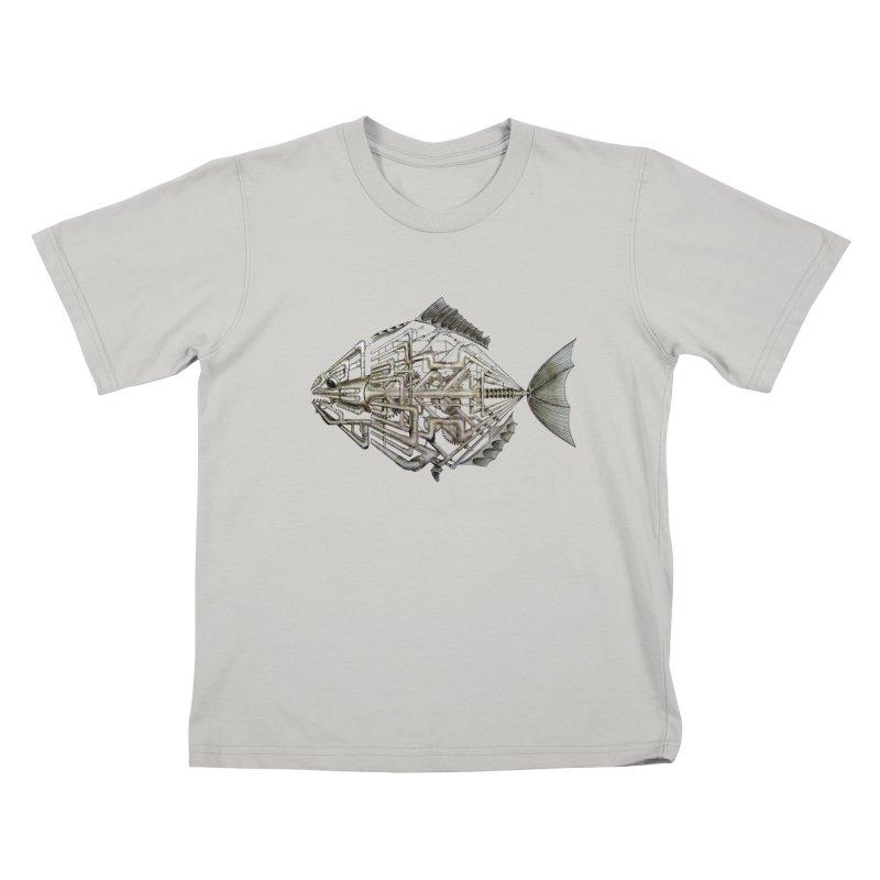bio fish Kids T-Shirt by bidule's Artist Shop