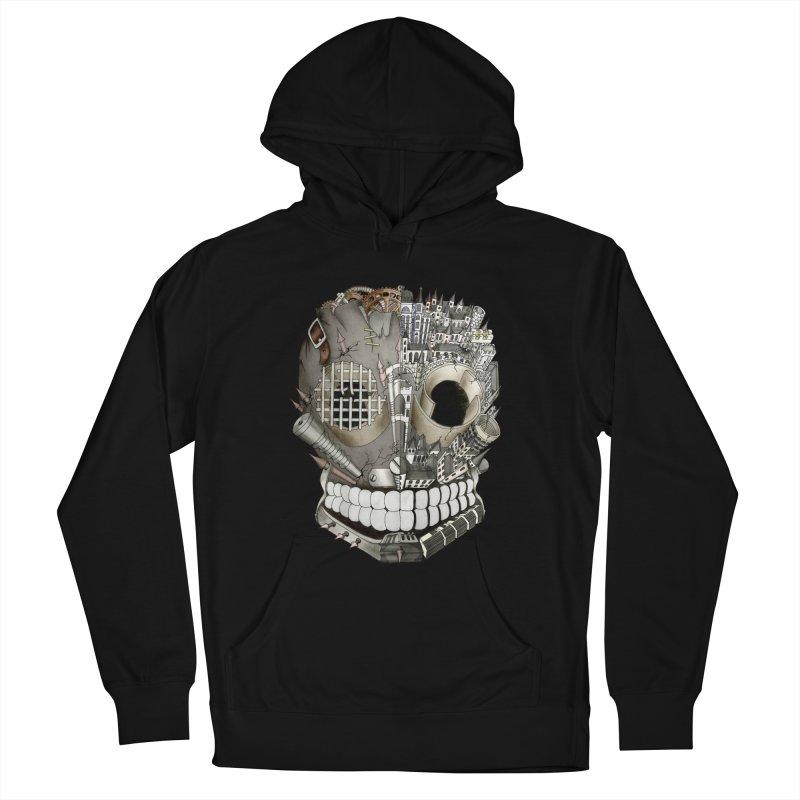 Bio skull Women's Pullover Hoody by bidule's Artist Shop