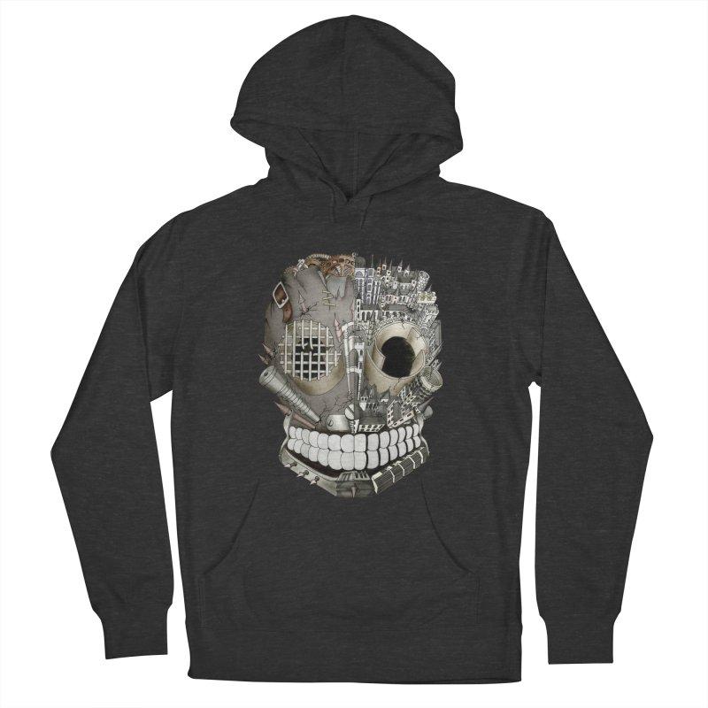 Bio skull Men's Pullover Hoody by bidule's Artist Shop