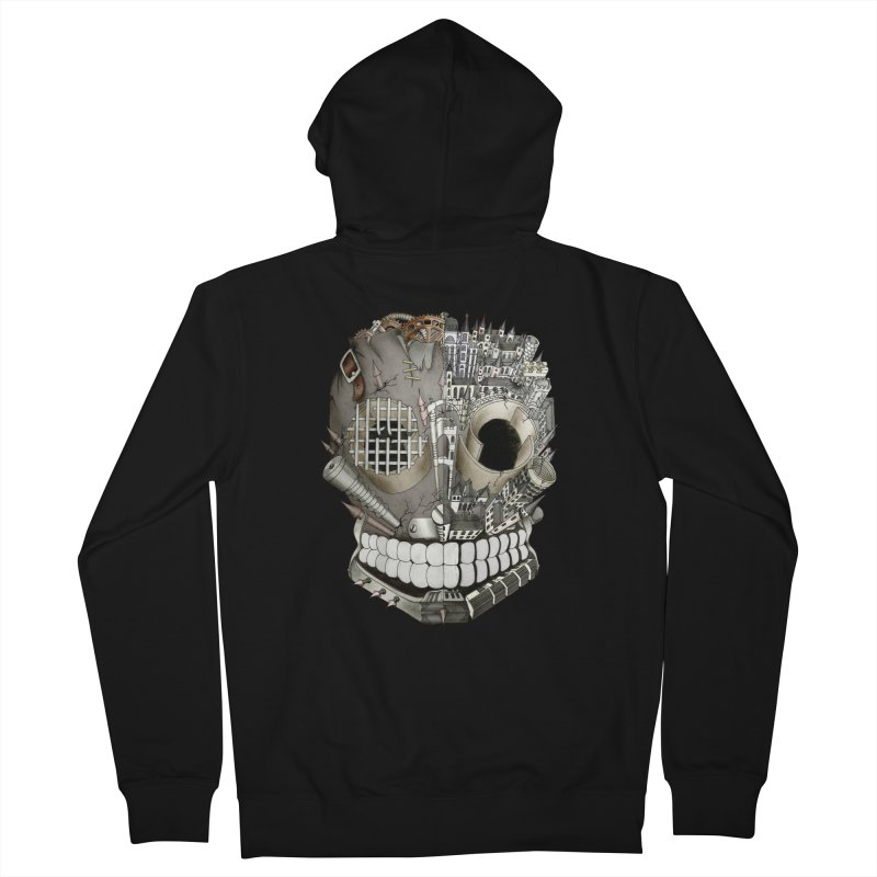 Bio skull Women's Zip-Up Hoody by bidule's Artist Shop