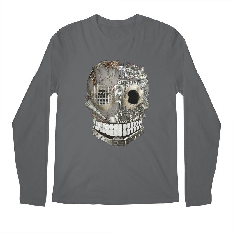 Bio skull Men's Longsleeve T-Shirt by bidule's Artist Shop