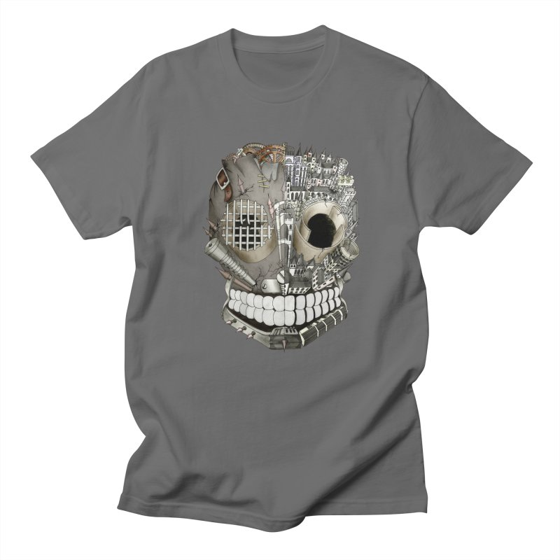 Bio skull Men's T-shirt by bidule's Artist Shop