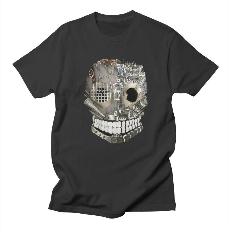 Bio skull Men's T-shirt by bidule's Artist Shop