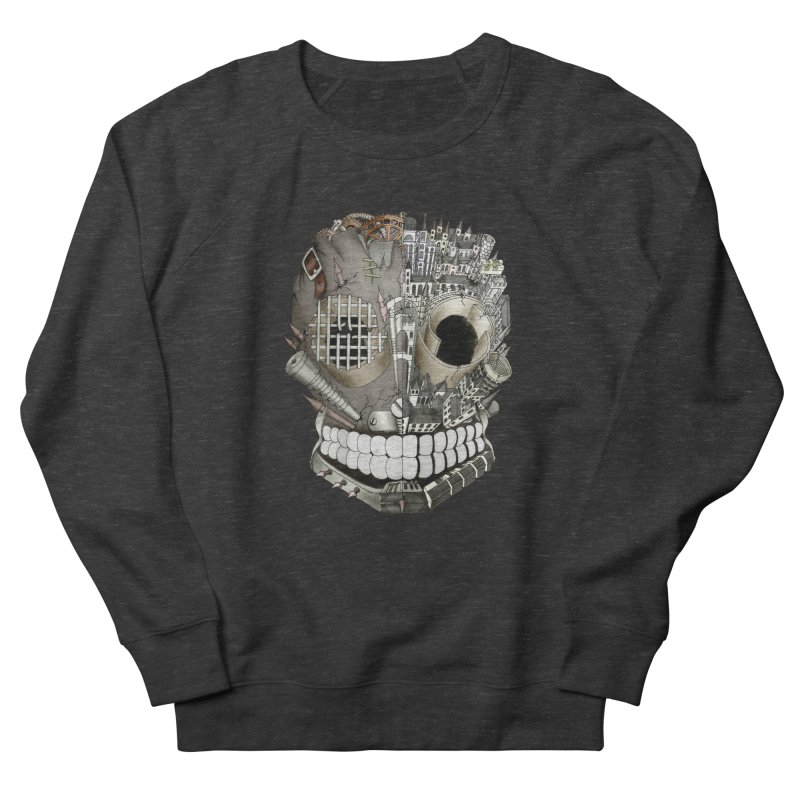 Bio skull Women's Sweatshirt by bidule's Artist Shop