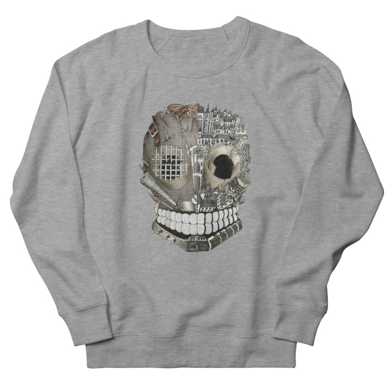 Bio skull Men's Sweatshirt by bidule's Artist Shop