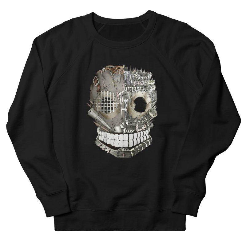 Bio skull Men's Sweatshirt by bidule's Artist Shop