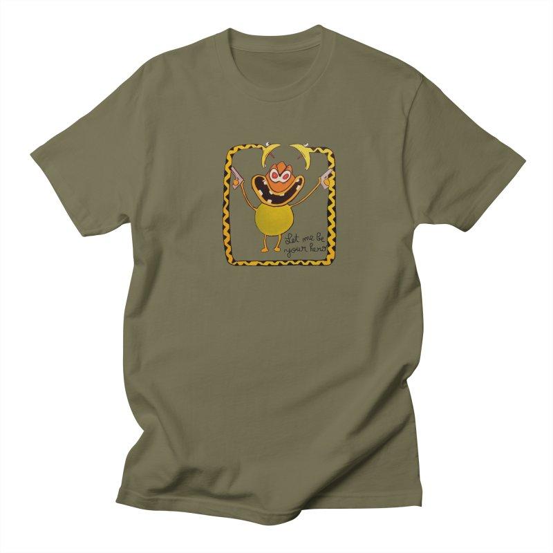 let me be your hero Men's T-shirt by bidule's Artist Shop
