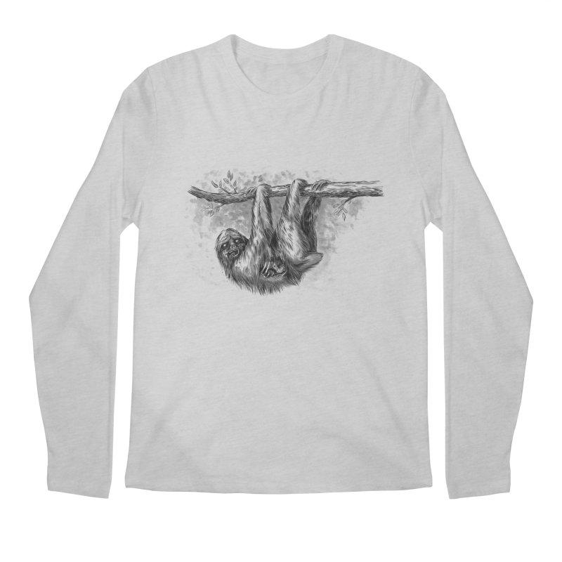 Slombie Men's Longsleeve T-Shirt by biernatt's Artist Shop