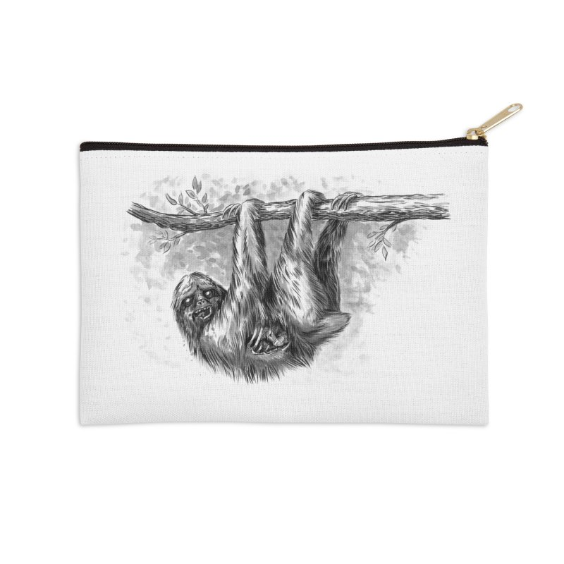Slombie Accessories Zip Pouch by biernatt's Artist Shop