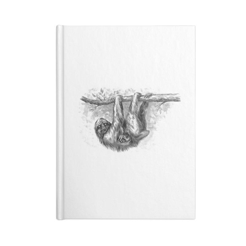 Slombie Accessories Lined Journal Notebook by biernatt's Artist Shop