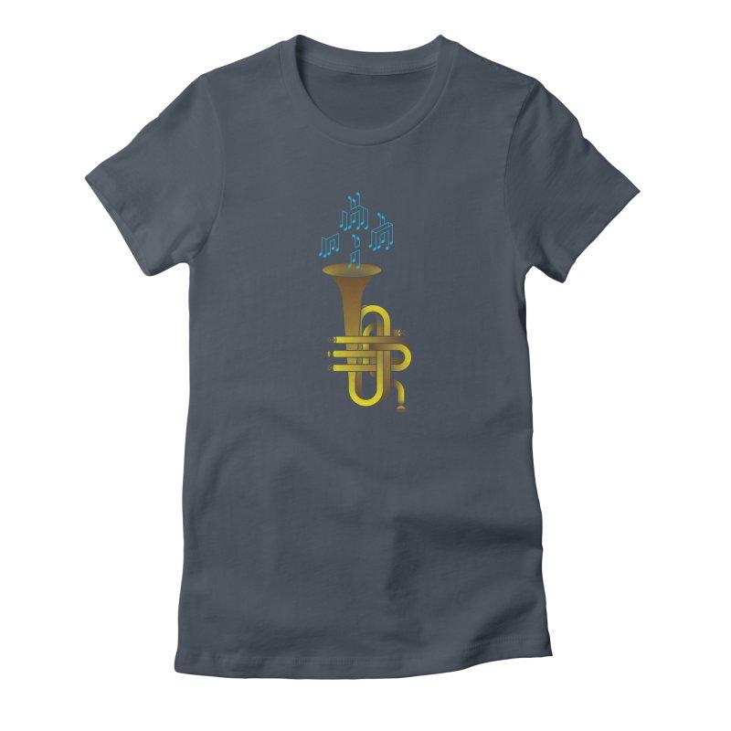 All that impossible jazz Women's T-Shirt by biernatt's Artist Shop