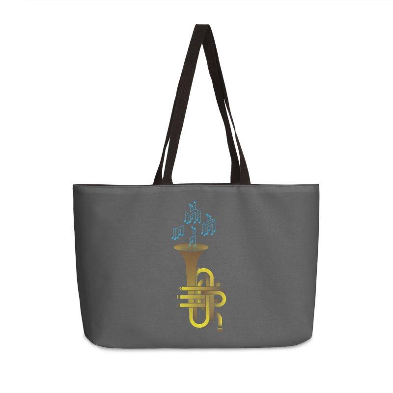 All that impossible jazz Accessories Weekender Bag Bag by biernatt's Artist Shop