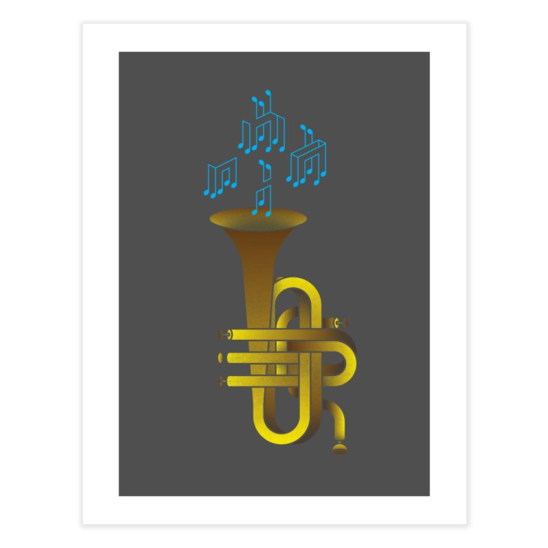 All that impossible jazz Home Fine Art Print by biernatt's Artist Shop