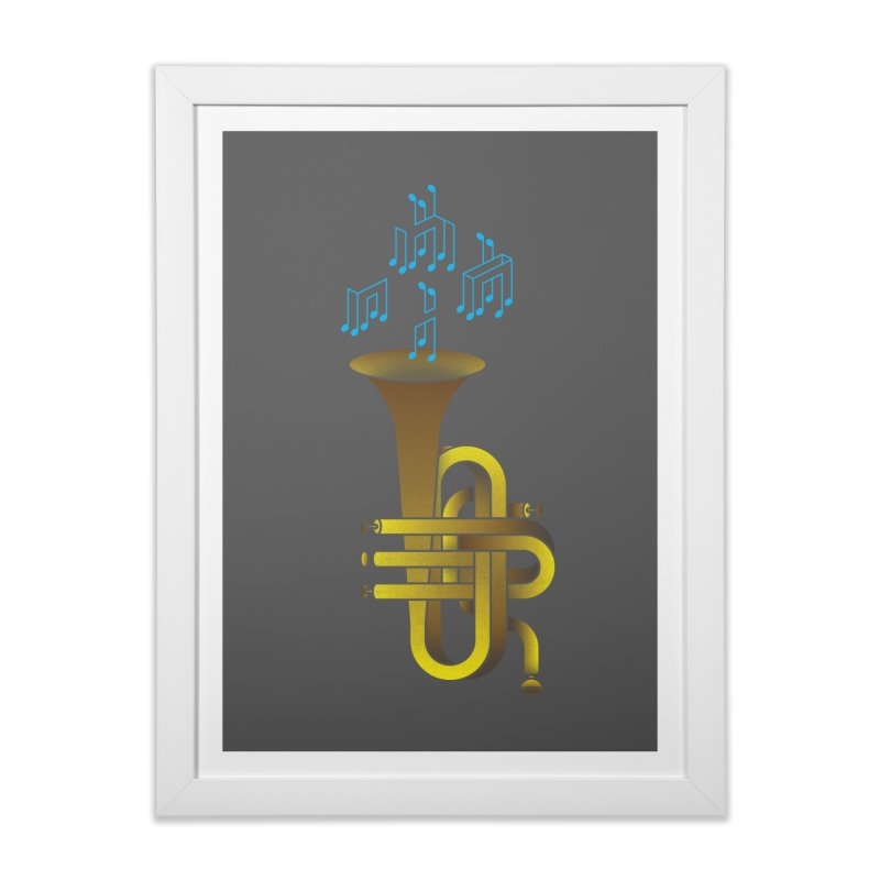 All that impossible jazz Home Framed Fine Art Print by biernatt's Artist Shop