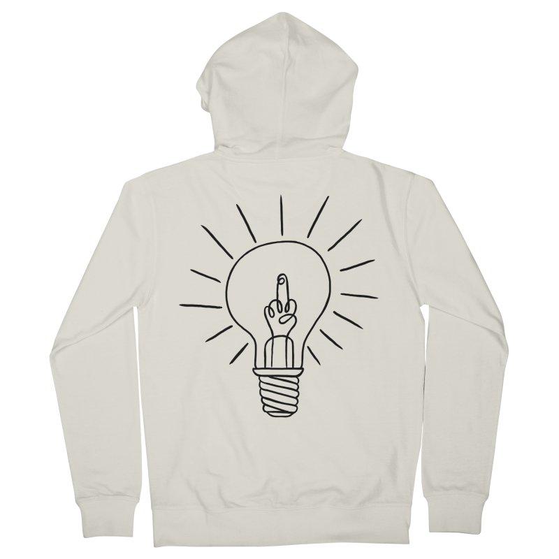 The idea Men's Zip-Up Hoody by biernatt's Artist Shop