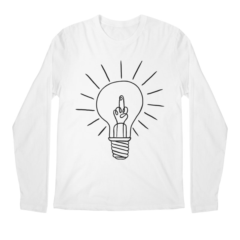 The idea Men's Longsleeve T-Shirt by biernatt's Artist Shop