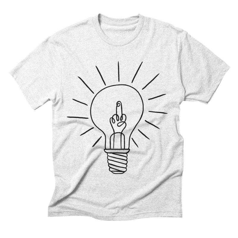 The idea Men's Triblend T-shirt by biernatt's Artist Shop