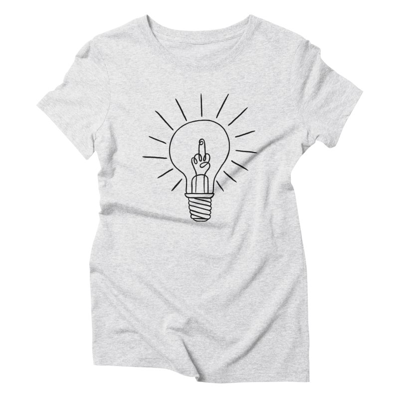 The idea Women's Triblend T-shirt by biernatt's Artist Shop