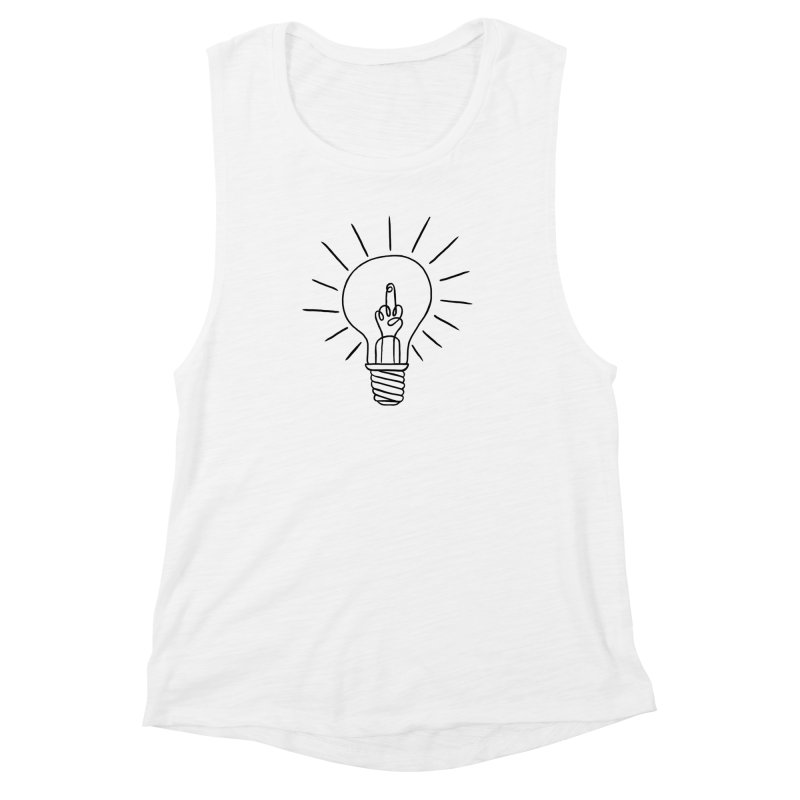 The idea Women's Muscle Tank by biernatt's Artist Shop