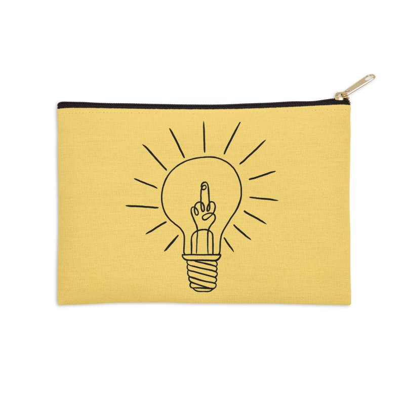 The idea Accessories Zip Pouch by biernatt's Artist Shop