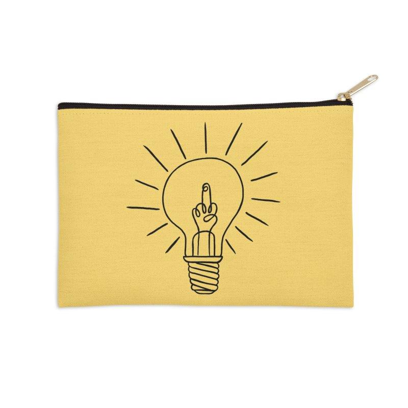 The idea Accessories Zip Pouch by biernatt's Artist Shop