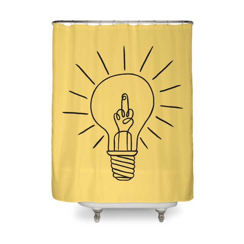 The idea Home Shower Curtain by biernatt's Artist Shop