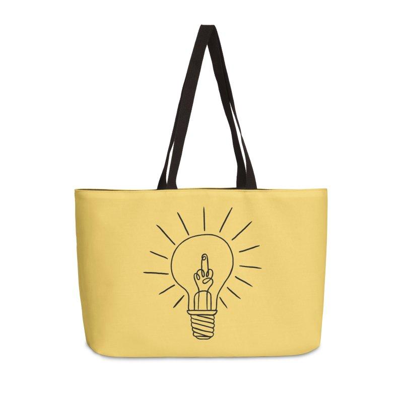 The idea Accessories Weekender Bag Bag by biernatt's Artist Shop