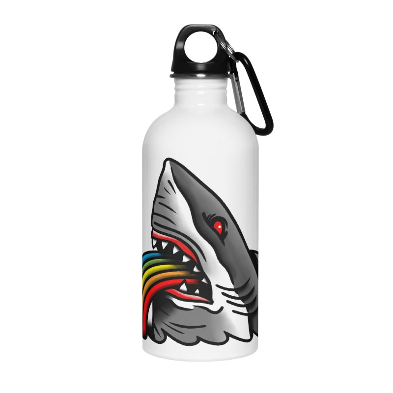 Great white balance Accessories Water Bottle by biernatt's Artist Shop