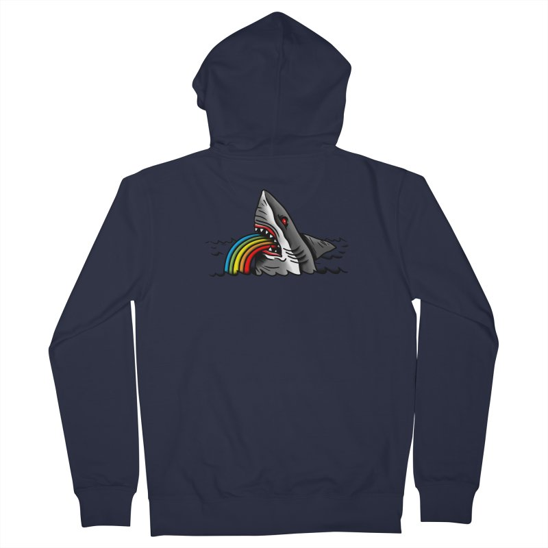 Great white balance Men's Zip-Up Hoody by biernatt's Artist Shop